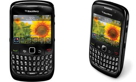 a blackberry 8520 software