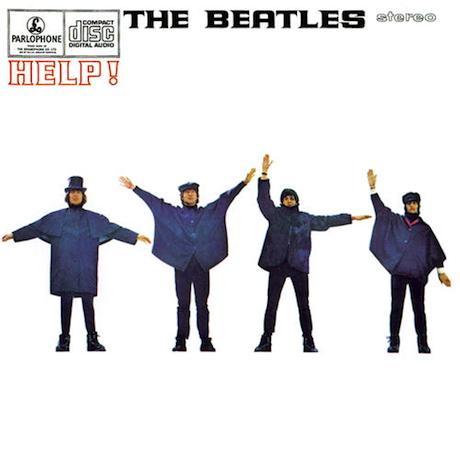 Beatles Help album cover The Beatles 1965 album Help!