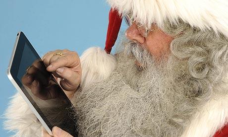 iPad Santa