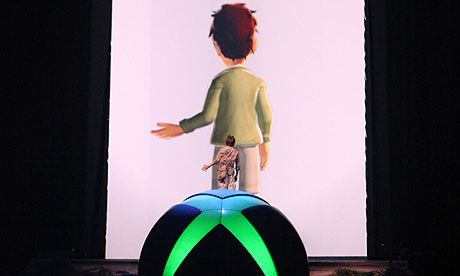 Kinect press launch