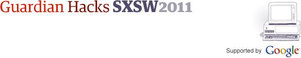 Guardian Hacks SXSW 2011