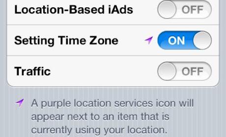 Image écran régalges de iPhone 4S