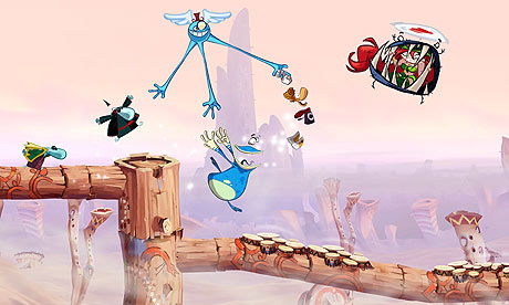 Improvement: Rayman needs friends.