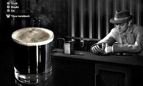 LA Noire 006 Six video game cocktails