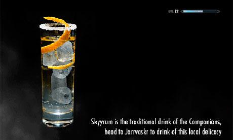 Skyyrum 005 Six video game cocktails