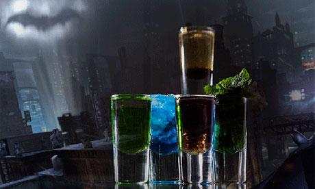 Batman Arkham Party 005 Six video game cocktails