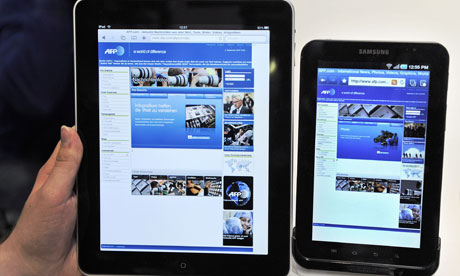 Samsung wins against Apple over tablet and smartphone sales