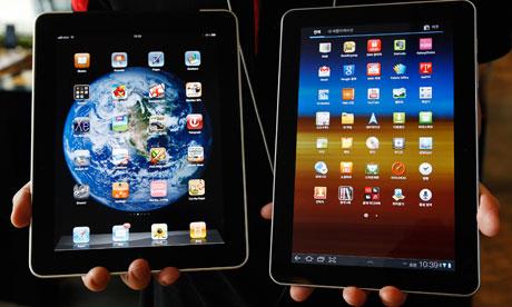 Samsung Galaxy Tab 10.1 iPad