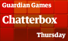 Chatterbox: Thursday