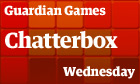 Chatterbox: Wednesday