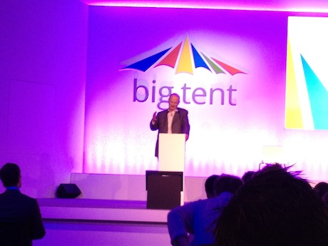 David Willetts speaking at Google Big Tent