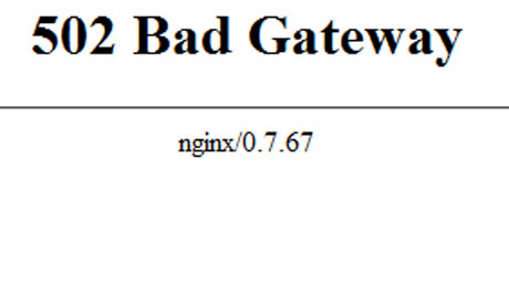 502 Bad Gateway error: what to do when you cant get
