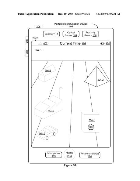 Apple 3D tablet patent