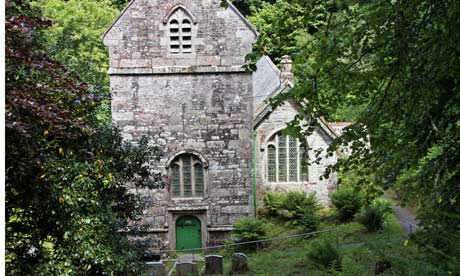 Minster Church, Boscastle, Cornwall, England