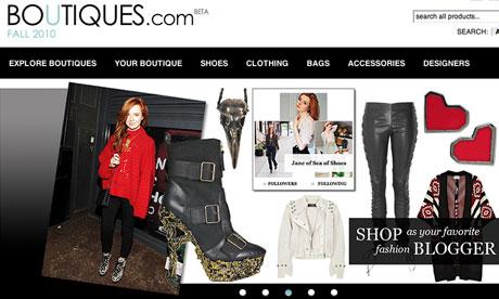 Boutiques.com google