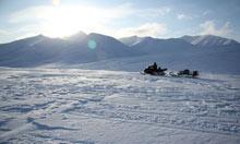 Skidoo, Spitsbergen