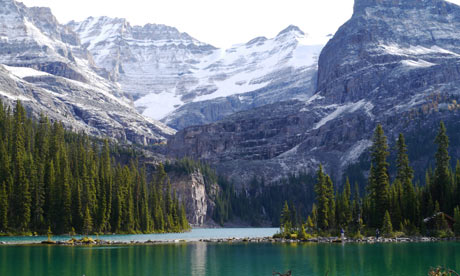 Lake O'Hara today.