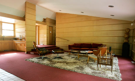 Famous Interior Designers on Stay In Your Very Own Frank Lloyd Wright House   Travel   Theguardian