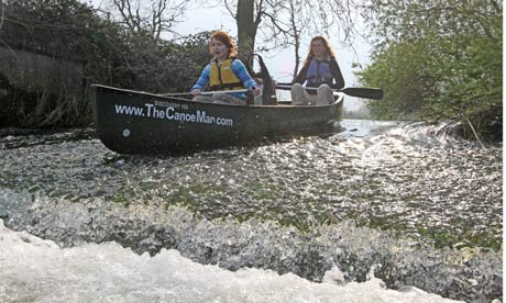 Paddle power: canoeing on the Norfolk Broads - A family canoe trip in Norfolk is a calm, pleasant, if slightly haphazard affair – until a tense encounter with the strange Motorboat tribe - TheCanoeMan, Canoeing & Kayaking in the Norfolk Broads National Park, England, UK