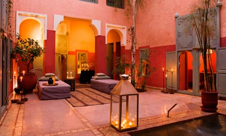 Riad in the Marrakech