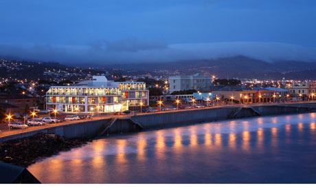 New Zealand St Claire resort