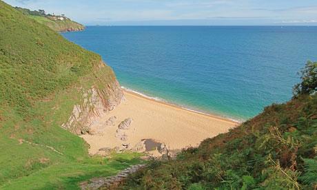 secret beaches landcombe