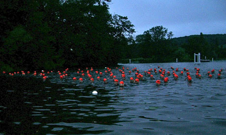 Swimmers at Henley