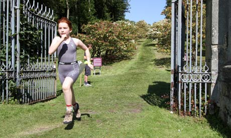 The Castles triathlon: will Dad make it? | Travel | The Guardian