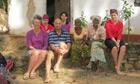 The Tarring family with Grandma and Grandpa