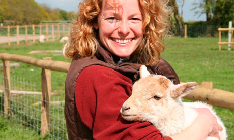 Kate Humble at her farm