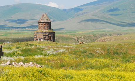 A church in Ani in the Kars province of Turkey