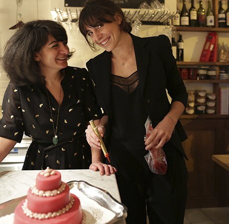 Elisabeth and Sinem of Unico restaurant