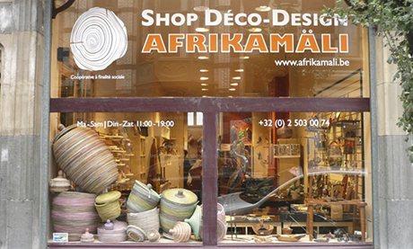 Afrikamali shop, Matonge