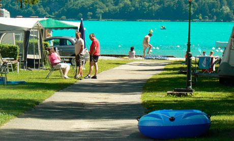 Camping du Lac Bleu