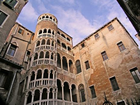 Scala del Bovolo stairs, Venice