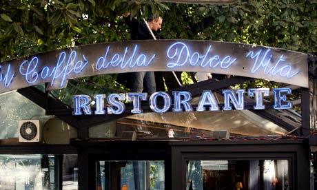 Caffe della Dolce Vita, Rome