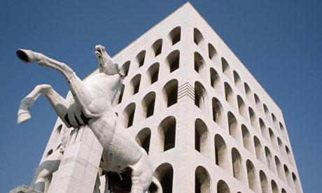 Palazzo della Civilta del Lavoro, Rome