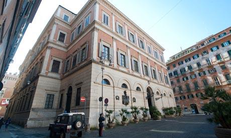 Palazzo Grazioli In Rome