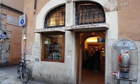 Forno Campo de' Fiori in Rome