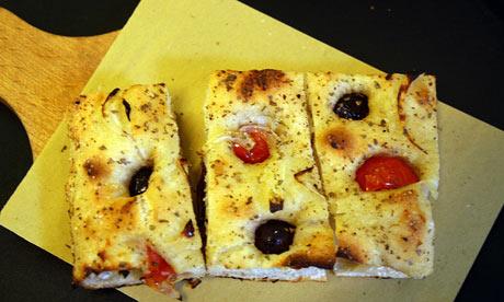 00100 pizzeria in Testaccio, Rome