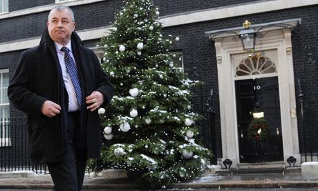 Brendan Barber Downing Street