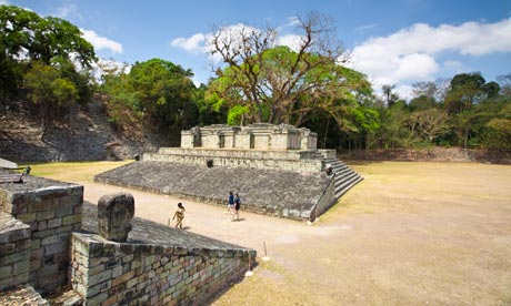 Mayan ruins at Copán
