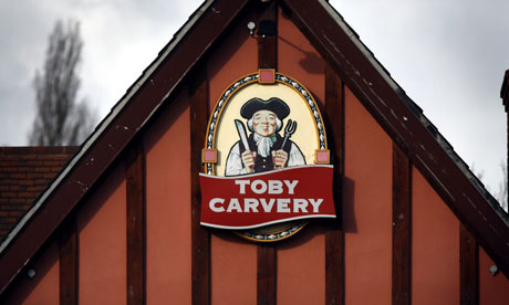 Mitchells & Butlers wants to concentrate on food-led pubs like Toby Carvery.