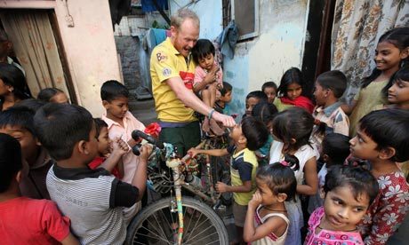 Daniel Bent's epic journey to India by bicycle
