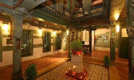 10 of the best hotels in india travel the guardian for Old indian house interior
