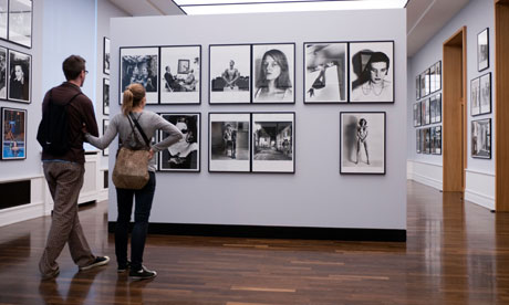 Photographs by Helmut Newton at Museum of Fotographie in Berlin