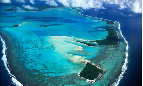 Tiny Pacific island nations create world's largest marine parks ...: http://www.democraticunderground.com/10021239232