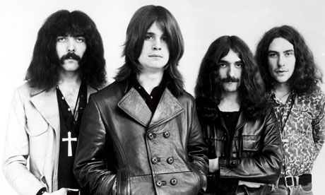 BLACK SABBATH original 1969 lineup of UK rock group - see Description below for details