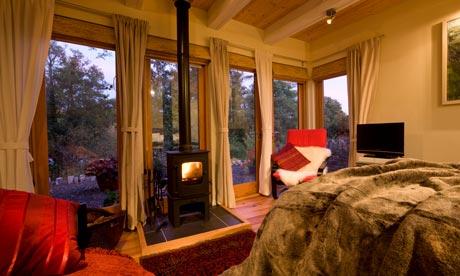 Hafod Glan Gwy cabin