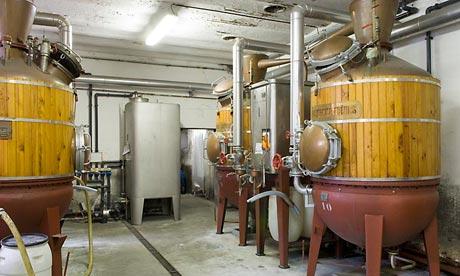 Lemercier absinthe distillery